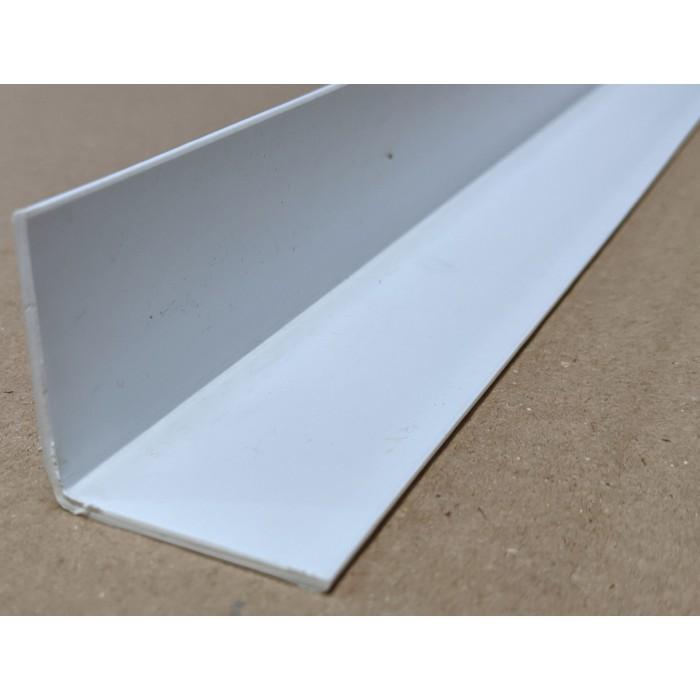 Trim-Tex White 38.1mm x 38.1mm x 1.2m PVC Corner Guard 1 Length