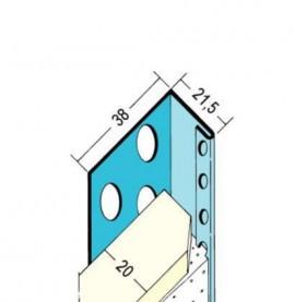 Protektor Stop Profile for 20mm Board