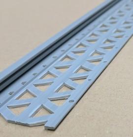Dark Grey 10 - 12mm Render Depth PVC Stop Bead 42mm x 2.5m 1 Length