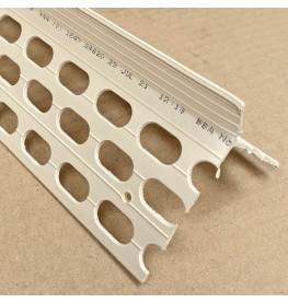 Renderplas CB20 20mm PVC Ivory Corner Bead 3m 1 Length