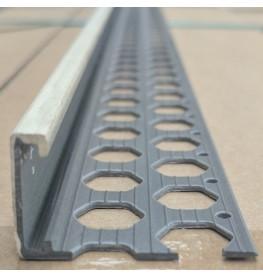 Renderplas Ivory PVC 20mm - 22mm  x 40mm x 3.8mm x 2.5m Stop Bead 1 Length