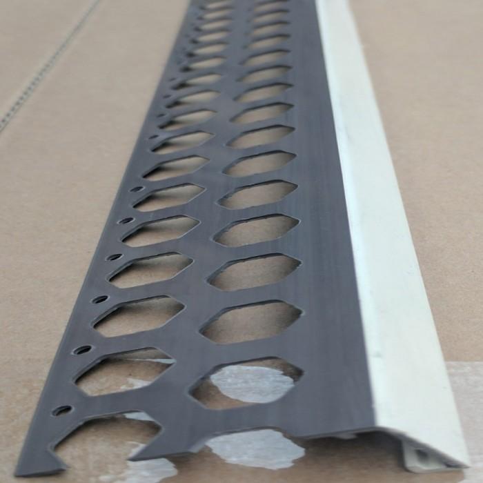 Renderplas Ivory PVC 20mm - 22mm  x 40mm x 3.8mm x 2.5m Stop Bead (1 length)
