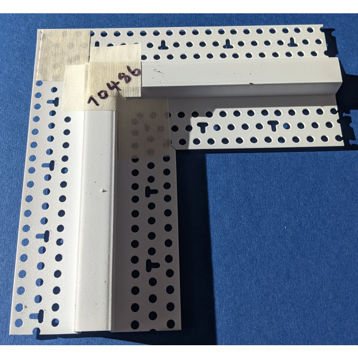 Trim-Tex 12.7mm 2 Way Right Angled Architectural Intersection Part Code AS510L