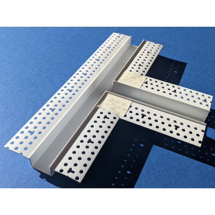 Trim-Tex 12.7mm x 19mm 3 Way T-Piece Architectural Intersection Part Code AS520T