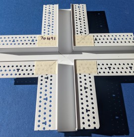 Trim-Tex 12.7mm x 25mm 4 Way Architectural Intersection Part Code AS530C