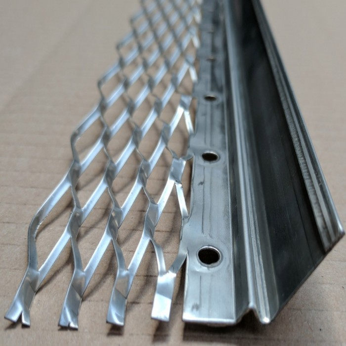 Wemico 16mm Stainless Steel Render Bellcast Bead 3m 1 Length