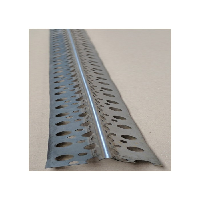 Protektor Long Wing Stainless Steel Thin Coat Corner Bead 35mm x  2.5m (1 length)