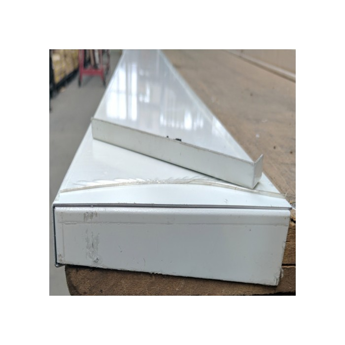 Wemico Aluminium Window Sill Cover With A Pair Of Endcaps 195mm x 2.5m (1 Cover)